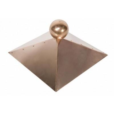 Dachhaube Kupfer - 4-eckig