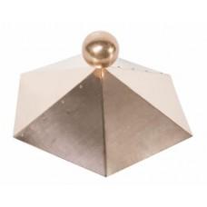 Dachhaube Kupfer - 6-eckig