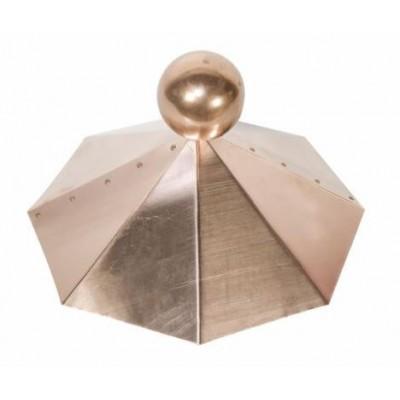 Dachhaube Kupfer - 8-eckig