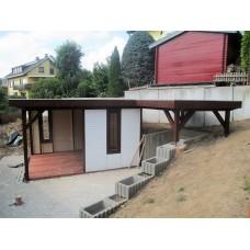 Referenz 34 - Gartenhaus mit Flachdach