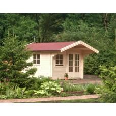 Referenz 27 - Gartenhaus mit Vordach