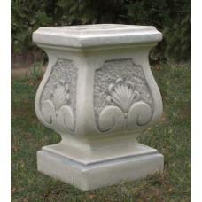 Sockel für Steinfiguren - Floral