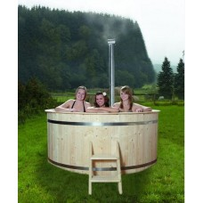 Badebottich Hot Tub Ø 180 (mit Innenofen)