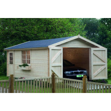 Garage 44-B mit Doppeltor