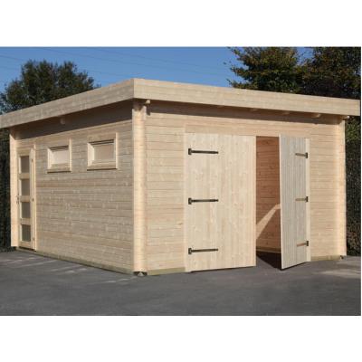 Garage 44 Moderna mit Doppeltor