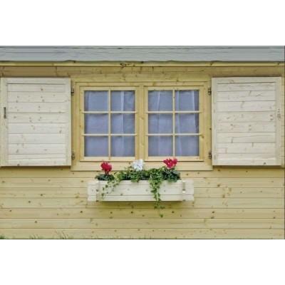 Klappladen f. Einzelfenster