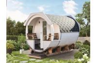 Saunafass Finja 1 Premium (Bausatz)