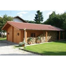 Garage Premium 600 x 800 + Seitendach