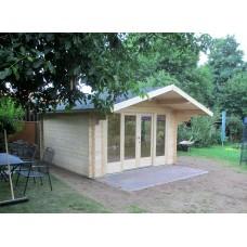 Referenz 70 - Gartenhaus mit Schiebetür