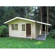 Referenz 66 - Gartenhaus mit Schleppdach