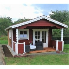 Referenz 74 - Gartenhaus mit Terrasse