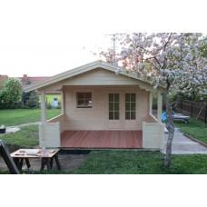 Referenz 63 - Gartenhaus mit Terrasse