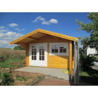 Referenz 8 - Gartenhaus als Sauna