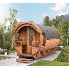 Saunafass Svenja 1 Premium (Bausatz)